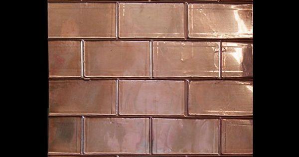 design brick backsplash for your home copper sheets copper