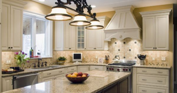 The 70 000 Dream Kitchen Makeover: Benjamin Moore Crisp Khaki Wall Paint Http://www.houzz.com