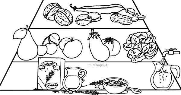 Progetto Alimentazione Scuola Infanzia Schede Da Colorare Auto