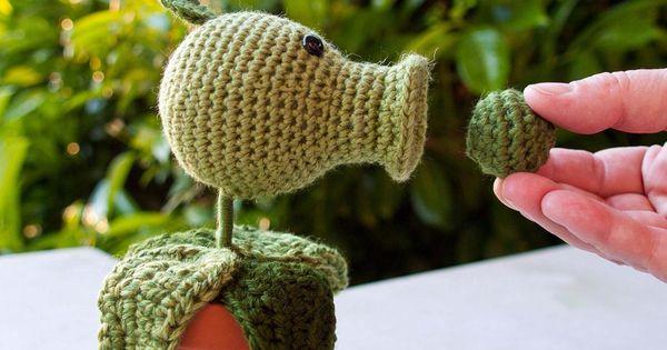 Amigurumi Angry Birds Star Wars : Plants vs Zombies Pea Shooter Amigurumi, and other softies ...
