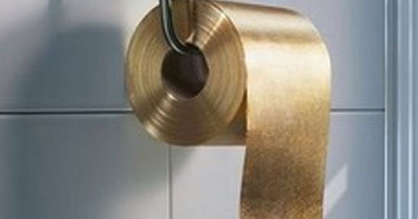 Gold Toilet Paper Pins Pinterest Toilets The