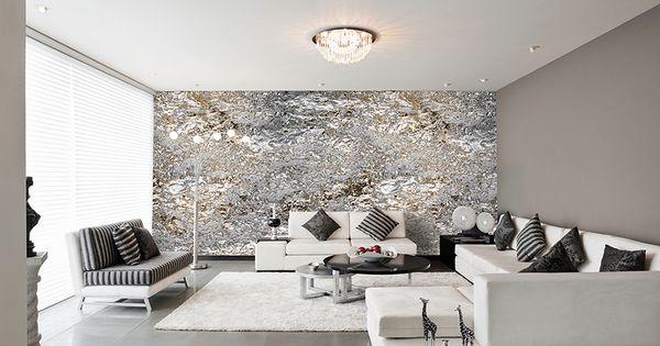 luxus wohnzimmer modern ~ moderne inspiration innenarchitektur und ... - Wohnzimmer Schwarz Silber