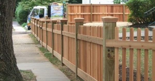 6 36 Quot High Cedar 2x2 Picket Fence With 6x6 Posts And