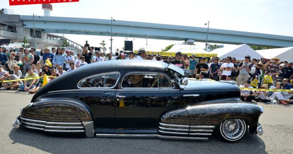 Japan Car Show Deadend Magazine Pick 1947 Chevrolet Fleetline