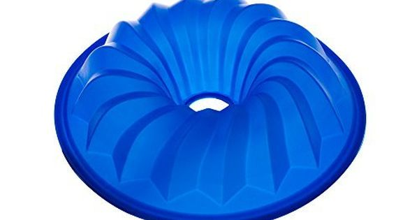The Clever Cuisine Silicone Spiral Bundt Gelatine Jello And Cake Pan With Thick Mold To Keep Consistent Form 105 D X 25 H You Can Cake Pans Bundt Baking Pans