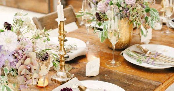 ... table - idées mariages en automne  Mariage, Decoration and Tables