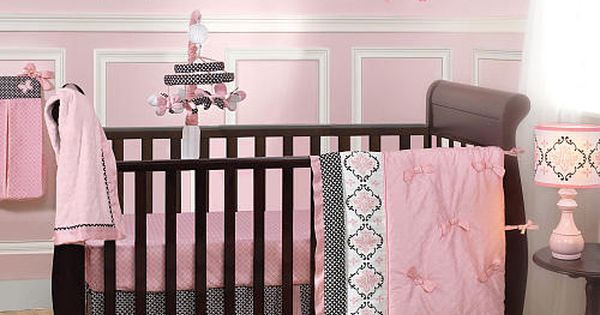 lambs ivy duchess 9 piece bedding set bedding sets babies r us and baby girls. Black Bedroom Furniture Sets. Home Design Ideas