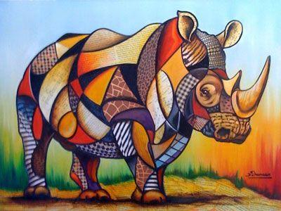 نقاشی کوبیسم و مدرن