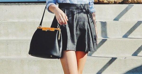 Taylor Swift Style Chambray shirt