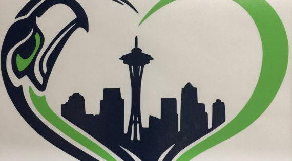 Seahawks Decal By Dnlcustomdecals On Etsy Seattle