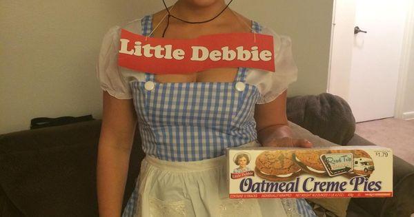 Homemade Little Debbie Costume - Snack Cakes for All ...