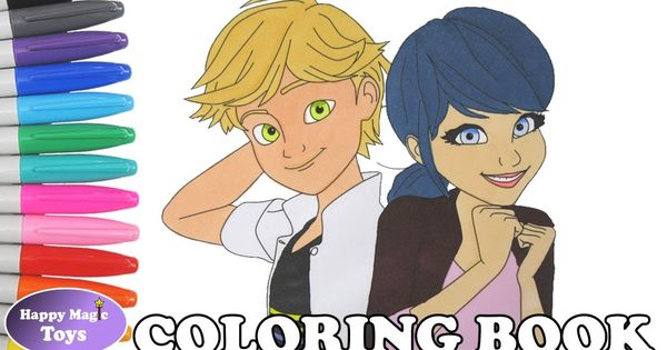 Marinette And Adrien Coloring Miraculous Ladybug And Cat Noir Coloring Miraculous Miraculousladybug Ladybug S Coloring Books Noir Color Coloring Book Pages