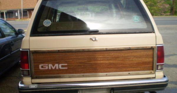 1989 S15 Gmc Jimmy 4x4 Chevy 4x4 Sport Utility Truck Blazer 4x4