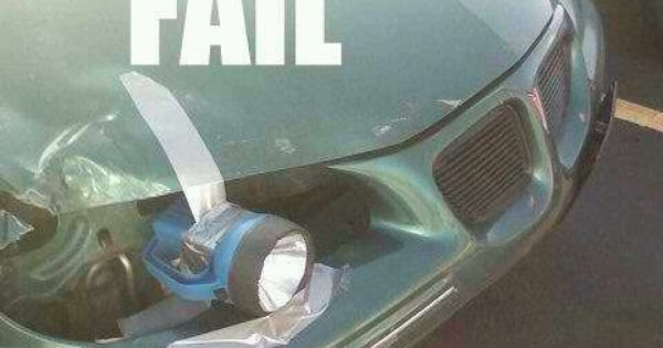 State Of The Art Car Headlight FAIL