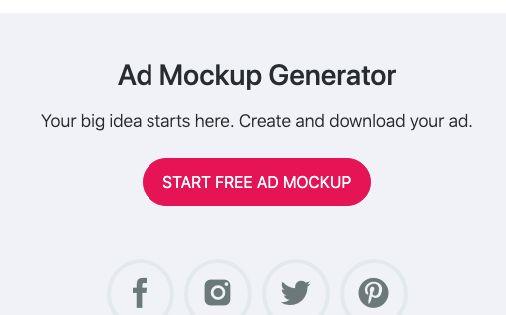 Ad Mockup Generator Adparlor Ads Free Ads Mockup Generator