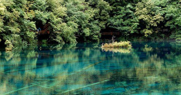 Jiuzhaigou Valley, Sichuan, China.