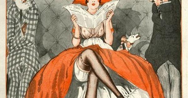 la vie parisienne 1920 sometimes i feel like this lol