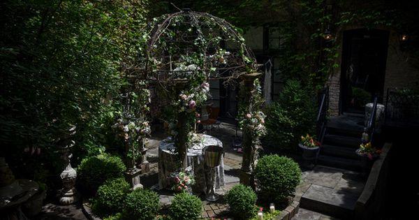 Romantic Garden Wedding North Dearborn Garden Walk Citygirl Events Ocken Photography Too Chic Little Romantic Garden Wedding Garden Wedding Photography