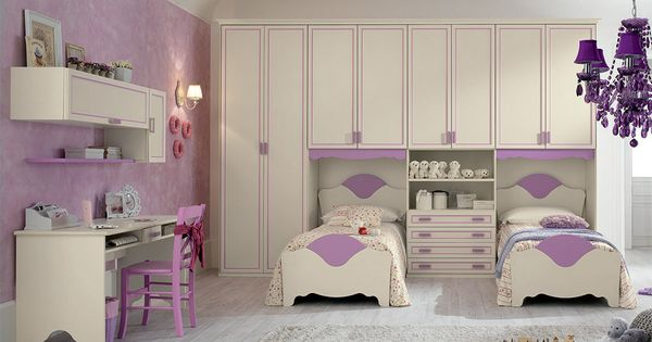 Contemporary Italian Kids Bedroom Set R111 By Spar Kids Bedroom Furniture Design Kids Bedroom Sets Kids Interior Room