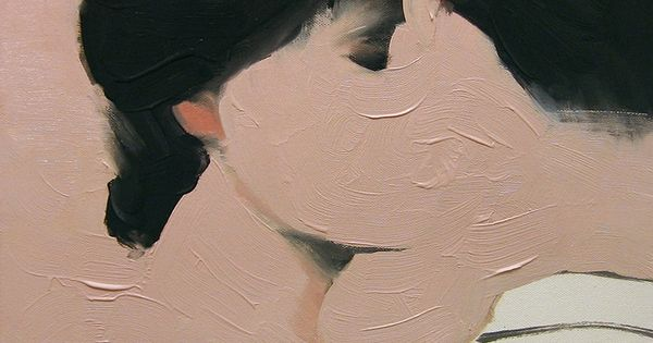 Good use of negative space. Saatchi Online Artist: Jarek Puczel; Oil, 2011,