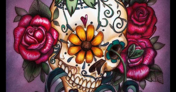 #vagabondco Tattoos Tattoo ink sugarskull