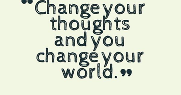 Inspiring Words of Wisdom - Change Your Thoughts WorldofGood Earthbrands Ad