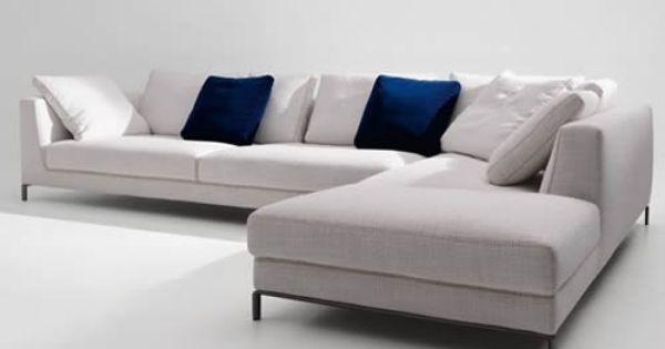 NEW BampB ITALIA RAY Sofa A Successful Design Strategy