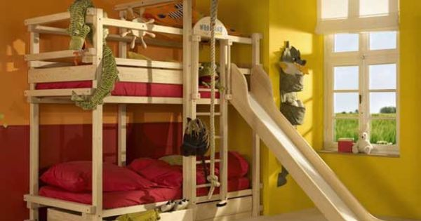 woodland bunk bed for kids bedroom Decorative Bedroom
