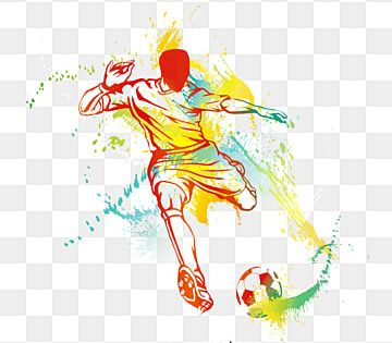 Football Player Silhouette Football Clipart Football Physical Elements Png Transparent Clipart Image And Psd File For Free Download Fundos Em Movimento Jogadores De Futebol Png