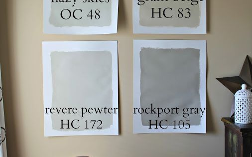 Picking The Perfect Gray Paint Valspar Revere Pewter