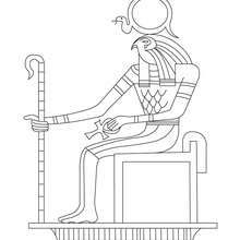Printable Egyptian Coloring Pages - Coloring Home   220x220