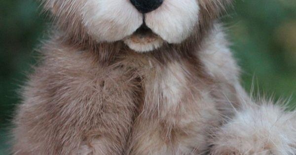 Open Mouth Mink Teddy Bear Www.kimbearlys.com
