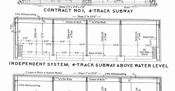 Nyc Subway Track Station Dimensions Sizes Amp Dimension