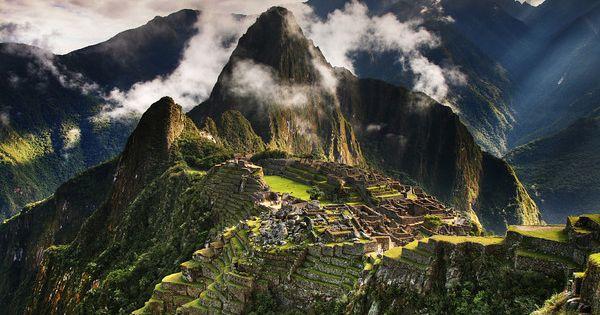 Machu Pichu, Peru http://en.wikipedia.org/wiki/Machu_Picchu South America