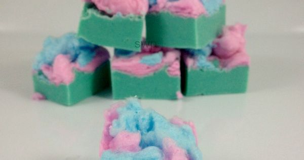 5 Minute Cotton Candy Fudge! - Spend With Pennies