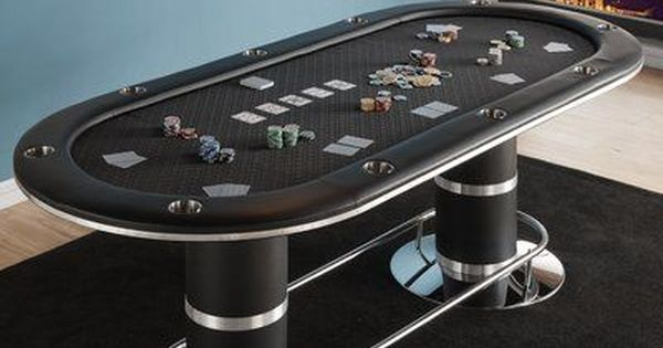 Idsonlinecorp Texas Hold Em 96 10 Player Poker Table Wayfair Bars For Home Game Room Decor Custom Poker Tables