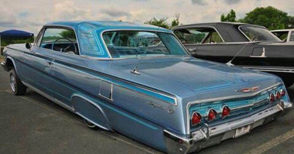62 Impala Lowriders 1962 Chevy Impala Lowrider Cars