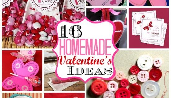 22 days to Valentines - some homemade ideas - MyBlessedLife.net