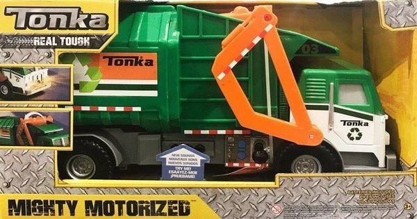 Large Tonka Bin Garbage Truck Lorry Lights Amp Sounds Working Bin Lift Boys Gift Garbage Truck Tonka Rubbish Truck