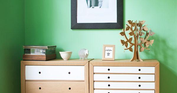 die sch nsten m bel aus pappe vom bett bis zum. Black Bedroom Furniture Sets. Home Design Ideas