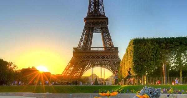Amazing Snaps: Sunset Over Eifel Tower, Paris, France travel Paris France Eifel_Tower