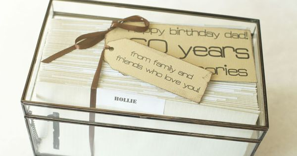 Gifts For 50th Wedding Anniversary For Friends: 60th Birthday Gift Idea. Letters From Friends!
