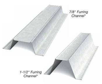 Furring Channel Hat Channel Building Systems Hats Channel