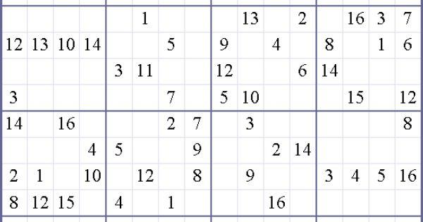 Medium Printable Sudoku Hard – HD Wallpapers