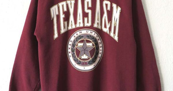 90s Texas A&M Aggies Sweatshirt NCAA College by ...