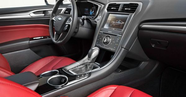 2015 Ford Fusion Titanium Interior Ford Pinterest Ford Fusion Ford And Cars