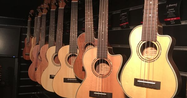 Alvarez Ukuleles And Ovation At Melbourne Guitar Show Yesterday Guitar Ukulele Music Instruments