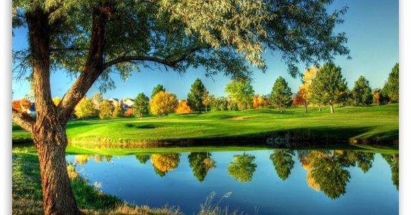 Golf Course Landscape Hd Desktop Wallpaper High Definition Fullscreen Mobile Beautiful Nature Wallpaper Nature Photography Nature Photos