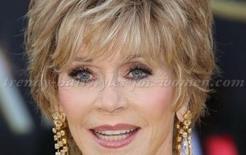 50th Hairstyle: Short+hairstyles+over+50,+hairstyles+over+60+-+Jane+Fonda