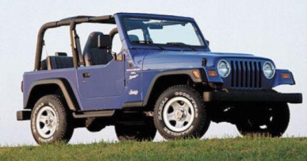 108 Years Of American Cars 1901 2009 1997 Jeep Wrangler 1998 Jeep Wrangler Jeep Wrangler Sport
